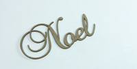 NOEL - Fancy Chipboard Word
