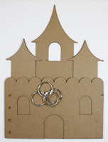 Princess Castle Chipboard Album