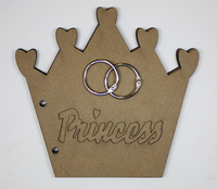 Crown Princess Chipboard Album