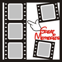 Great Memories - 12x12 Overlay