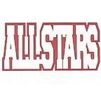 All Stars 2 Color Die Cut