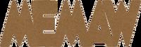 "Memaw -  Chipboard Word - 2 1/2"" x 7 1/2"""