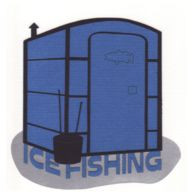 Ice Fishing Laser Die Cut - 3 Color