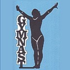 Gymnast Woman Laser Design
