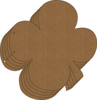 4 Leaf Clover Chipboard Album