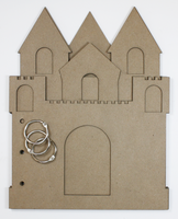 Sandcastle Chipboard Album