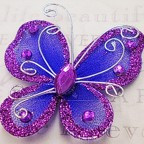 "Butterfly - 2"" Purple"