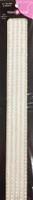 """Sleek Strips 12"""" Rhinestones - Mother of Pearl"""