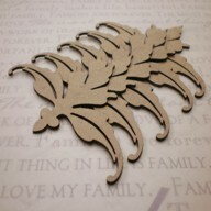 Chipboard Embellishments - Pack of 4 - Style A