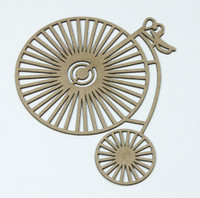 Tricycle - Chipboard Embellishment