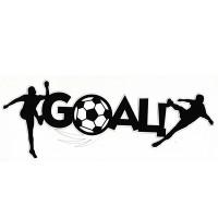 Soccer Goal Title Strip