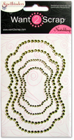 Nestabling Labels Fourteen Lime Green