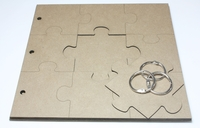 Puzzle Album - Chipboard Album