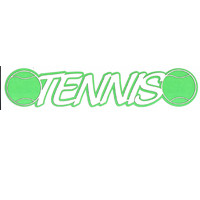 Tennis Title Strip