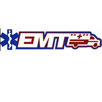 EMT with Ambulance and Logo Title Strip