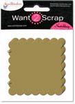 Grand Chipboard Album - Scalloped Squares