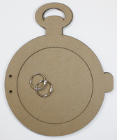 Pocket Watch Chipboard Album