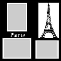 Paris - 12x12 Overlay