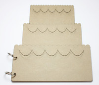 Cake Album - Chipboard Albums