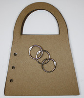 Purse Album - Chipboard