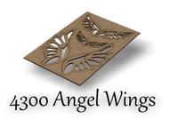 Angel Wings - Chipboard