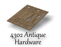 Antique Hardware Set - Chipboard