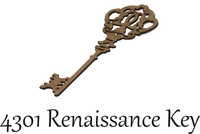 Renaissance Key - Chipboard