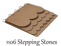 Stepping Stones Corrugated