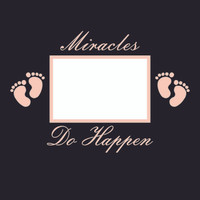 Miracles do Happen - Girl  - 12x12 Overlay