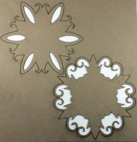 Doily Set 1 - Chipboard Embellishments