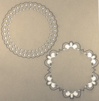 Doily Set 2 - Chipboard Embellishments