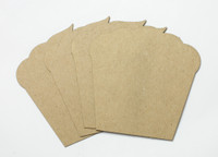 Cupcakes 4 Pack - Chipboard Shapes