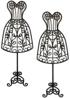 Dress form  - Silhouette Card Sized (2pack)