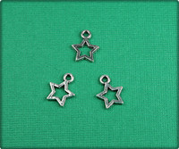Star - Antique Silver