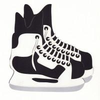 Hockey Skates Die Cut