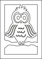 Owl Stencil
