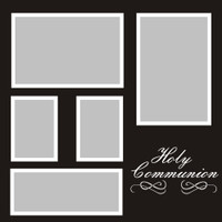 Holy Communion - 12x12 Overlay