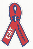 EMT First Responder Ribbon - Laser Die Cut