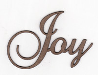 Joy - Fancy Chipboard Words