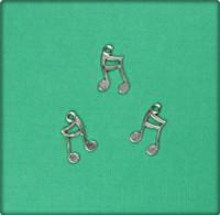 Ottava Musical Symbol - Antique Silver