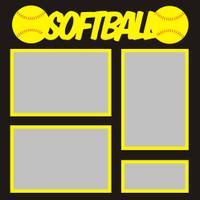 Softball - 12x12 Overlay