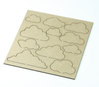 Clouds  - Card sized