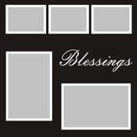 Blessings - 12x12 Overlay
