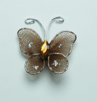 "Butterfly - 1"" Brown"