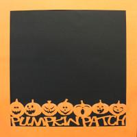 Pumpkin Patch Halloween - 12x12 Overlay
