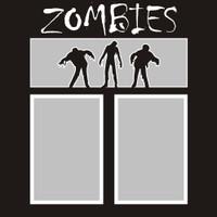 Zombies - 12x12 Overlay