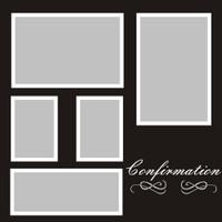 Confirmation - 12x12 Overlay