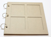Picture Frame Album - Chipboard Album