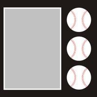 Baseball - 6x6 Overlay