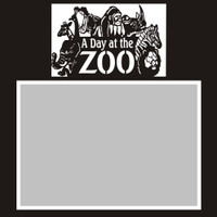 A Day at the Zoo - 6x6 Overlay